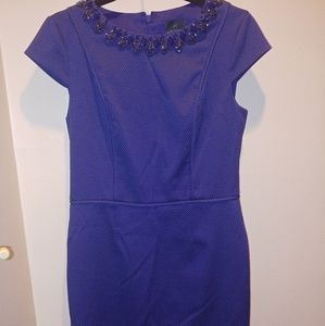 Adrianna Papell royal blue dress